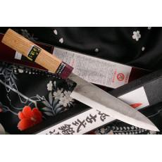 Japanese kitchen knife Goko Hamono Shirogami S/S Clad GHO-002 15cm