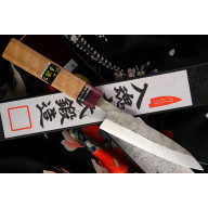 Japanilainen Goko Hamono Shirogami S/S Clad Honesuki GHO-010 15cm