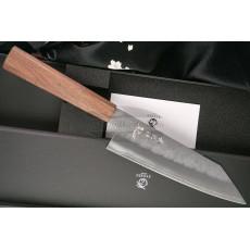 Santoku Japanese kitchen knife Ryusen Hamono Blazen Wa BZ-407 17cm