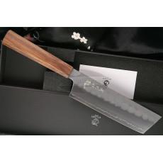 Nakiri Japanese kitchen knife Ryusen Hamono Blazen Wa BZ-408 16.5cm