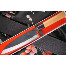 Gyuto Japanese kitchen knife Daisuke Nishida Shirogami DN-11212 18cm