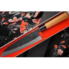 Gyuto Japanese kitchen knife Daisuke Nishida Shirogami DN-11213 21cm