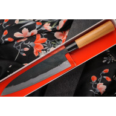 Japanilainen kokkiveitsi Gyuto Daisuke Nishida Shirogami DN-11213 21cm