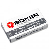 Böker 10 replacement blades for safety razor