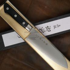 Santoku Japanese kitchen knife Tojiro Powdered High Speed Steel F-517 17cm