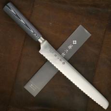 Cuchillo de pan Tojiro OBORO F-1314 22cm