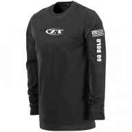 T-paita Zero Tolerance Long Sleeve Black XL ZT184