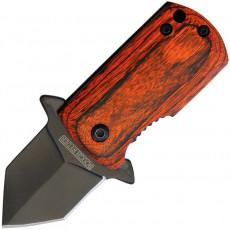 Складной нож Rough Rider Framelock A/O Wood 2009 3.2см