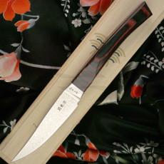Японский кухонный нож Seki Kanetsugu Nami Wine 92011 10см