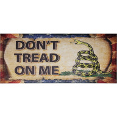 Sperrholzschild Miscellaneous: Don't Tread on Me MI237