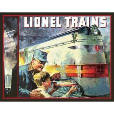 Blechschild Lionel 1935 TSN2283