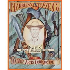 Cartel de chapa Marble's Safety Axe TSN9163