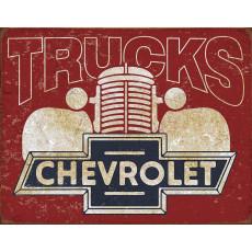 Tin sign Chevy Trucks TSN2197