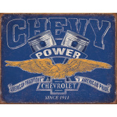 Tin sign Chevy Power TSN2199