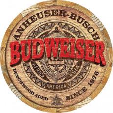 Tin sign Budweiser Barrel End TSN2165