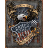Tin sign Armed Forces Since 1775 TSN2149