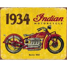 Tin sign 1934 Indian Motorcycles TSN1929