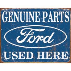 Жестяная табличка Ford Parts Used Here TSN1314