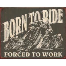 Tin sign Born To Ride TSN1885