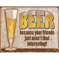 Tin sign Beer Your Friend TSN1767