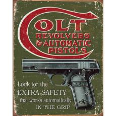 Blechschild Colt Extra Safety TSN1592