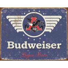 Blechschild Budweiser 1936 Weathered TSN1383