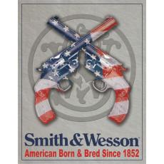 Blechschild Smith & Wesson TSN1465