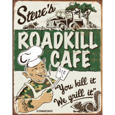 Blechschild Schonberg -Steves Cafe TSN1416