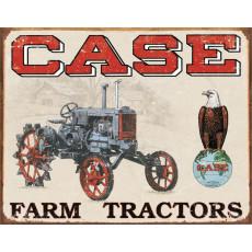 Cartel de chapa Case Tractor - CC High TSN1230