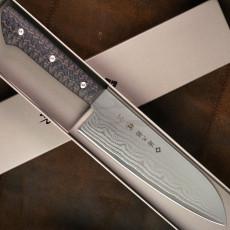 Cuchillo Japones Santoku Tojiro F-1351 17cm