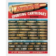 Cartel de chapa Remington Sporting Cartridges TSN1001
