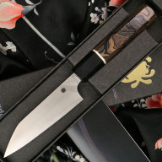 Овощной кухонный нож Spyderco Itamae Petty K15GPBNBK 11.6см