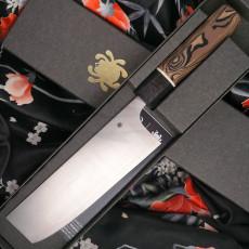 Japanilainen vihannesveitsi Nakiri Spyderco Itamae K17GPBNBK 18.5cm