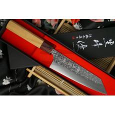 Японский кухонный нож Yu Kurosaki SG2 Keyaki wood Bunka KR-304KE 16.5см