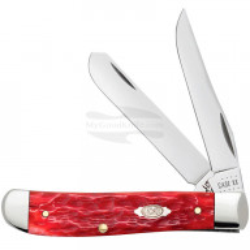 Folding knife Case Mini Trapper Dark Red 31952 6cm