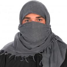 Camcon Arabic headscarf Shemagh Charcoal PF61014