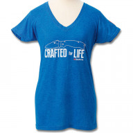 T-Shirt Spyderco Women Crafted for life SCTSWCFL