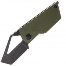 Складной нож Kizer Cutlery Cyber Blade G-10 Green V2563A1 5.4см
