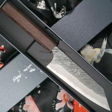 Japanese kitchen knife Yu Kurosaki Bunka Fujin Super Aogami ZAF-165BU 16.5cm