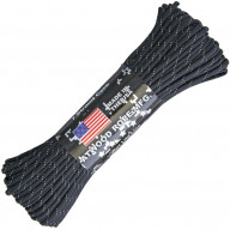 Paracord Artwood Rope Black reflective RG1293H