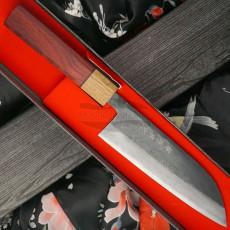 Japanilainen keittiöveitsi Santoku Tsutomu Kajiwara TK-1115 16.5cm