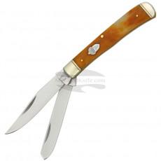 Складной нож траппер Rough Rider Trapper Tobacco Bone 777