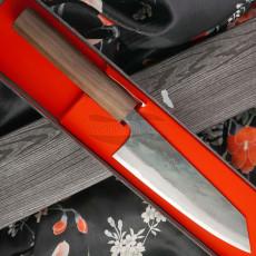 Japanese kitchen knife Ittetsu Bunka Shirogami IW1186 16.5cm