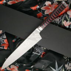 Cuchillo Japones Gyuto Ryusen Hamono Houenryu Black and Red HE-202 21cm