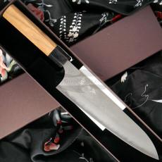 Gyuto Japanese kitchen knife Yoshimi Kato Aogami super D-505 21cm