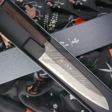 Gyuto Japanese kitchen knife Yu Kurosaki Fujin Super Aogami Series ZAF-240CH 24cm