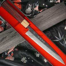 Sujihiki Japanese kitchen knife Tsutomu Kajiwara TK-1127 24cm