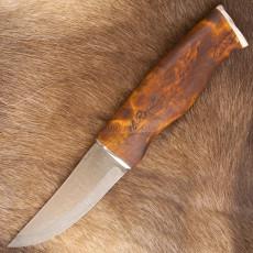 Finnish knife Roselli Hunting Nalle Reindeer Antler RW200AL 10.5cm