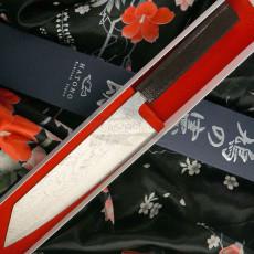 Kiritsuke Japanisches Messer Kenshiro Hatono VG10 Nickel Damascus KH-C3 21cm