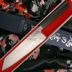 Японский кухонный нож Киритсуке Kenshiro Hatono VG10 Nickel Damascus, paper KH-P6 21см